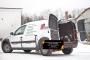 Внутренняя обшивка стоек задних фонарей со скотчем 3М Lada (ВАЗ) Largus фургон 2012-