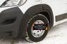 Расширители колесных арок (передний левый и передний правый) (вынос 10 мм) Peugeot Boxer Шасси 2014-