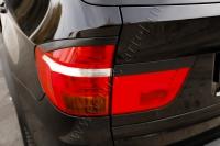 Накладки на задние фонари (реснички) BMW X5 (E70) 2007-2010