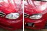 Накладки на передние фары (реснички) Chevrolet Lanos 2005-2009