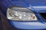 Накладки на передние фары (реснички) Chevrolet Lacetti Седан 2004-