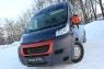 Накладки на передние фары (реснички) Peugeot Boxer 2006-2013 (250 кузов)