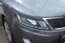 Накладки на передние фары (реснички) KIA Rio III (седан) 2011-2015 (дорестайлинг)
