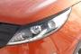 Накладки на передние фары (реснички) KIA Sportage 2014-2015