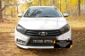 Комплект для самостоятельного изготовления ресничек на передние фары Lada (ВАЗ) Vesta SW 2018-