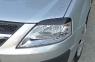 Накладки на передние фары (Реснички) Lada (ВАЗ) Largus фургон 2012-