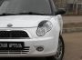 Накладки на передние фары (реснички) Lifan 320 Smily 2008-2013