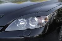 Накладки на передние фары (Реснички) Mazda 3 хэтчбэк 2003-2008