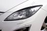 Накладки на передние фары (реснички) Mazda 6 2007-2010