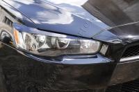 Накладки на передние фары (реснички) Mitsubishi Lancer X 2015-