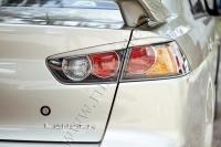 Накладки на задние фонари (реснички) Mitsubishi Lancer X 2015-