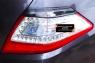 Накладки на задние фонари (реснички) Nissan Teana 2011-2014