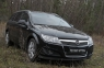 Накладки на передние фары (реснички) Opel Astra универсал 2006-2012