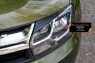 Накладки на передние фары (реснички) Renault Duster 2015- (I рестайлинг)
