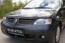 Накладки на передние фары (Реснички) Renault Logan 2010-2013
