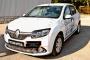 Накладки на передние фары (реснички) Renault Sandero Stepway 2014-