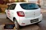 Накладки на задние фонари(реснички) Renault Sandero Stepway 2014-
