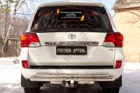 Накладки на задние фонари (реснички) Toyota LC 200 2012-2015