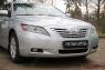 Накладки на передние фары (Реснички) укороченные Toyota Camry V40 2006-2009 (дорест.)