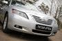 Накладки на передние фары (Реснички) Toyota Camry V40 2006-2009 (дорест.)