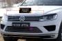 Накладки на передние фары (реснички) Volkswagen Touareg 2014-2017