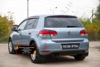 Накладки на задние фонари (реснички) Volkswagen Golf VI 2009-2012