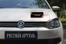 Накладки на передние фары (реснички) Вар.2 Volkswagen Polo V 2009-2016