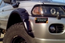 Расширители колесных арок Mitsubishi Pajero Sport (Europe) 1997-2008