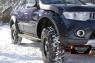 Расширители колёсных арок (вынос 60 мм) Вариант 1 Mitsubishi Pajero Sport 2008-2013