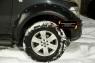 Расширители колесных арок Nissan Navara 2005-2010