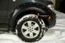 Расширители колесных арок Nissan Navara 2011-2015