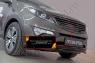 Решетка радиатора (4 поперечины) KIA Sportage 2014-2015