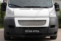 Решётка радиатора с металлической сеткой Fiat Ducato 2012-2013(250 кузов)