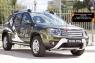 Решетка радиатора с сеткой металлик Renault Duster 2015- (I рестайлинг)