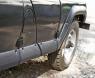 Расширители колёсных арок с молдингами на двери Uaz Hunter -