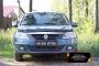 Защитная сетка и заглушка переднего бампера Renault Logan 2010-2013