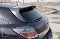 Накладка на задний спойлер Opel Astra 2007-2009