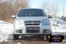 Защитная сетка и заглушка решетки переднего бампера Chevrolet Aveo седан 2007-2012