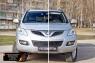 Защитная сетка решетки переднего бампера Great Wall Hover H5 2011-2016