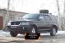 Защитная сетка переднего бампера Mitsubishi Pajero Sport 1998-2004