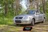 Защитная сетка и заглушка решетки переднего бампера Nissan Almera Classic 2007-2012
