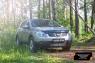 Защитная сетка решетки переднего бампера Nissan Qashqai 2006-2010