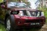 Защитная сетка решетки радиатора Nissan Pathfinder 2004-2010 (R51)