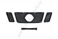 Защитная сетка решетки радиатора Nissan Pathfinder 2011-2013 (R51 рестайлинг)