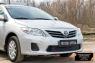 Защитная сетка решетки переднего бампера Toyota Corolla (седан) 2010-2013
