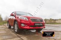 Защитная сетка решетки переднего бампера Toyota Rav4 2011-2012