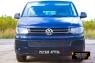 Защитная сетка решетки переднего бампера Volkswagen Transporter (T5 рестайлинг) 2009-2015