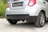 Тюнинг обвес заднего бампера Chevrolet Aveo Хэтчбек 5 дв. 2008-2012