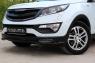 Тюнинг обвес переднего бампера Вариант 1 KIA Sportage 2014-2015
