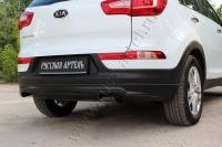 Тюнинг обвес заднего бампера Вариант 1 KIA Sportage 2014-2015
